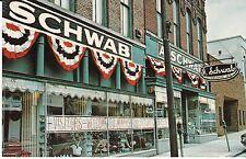 "Memphis TN ""A. Schwab Department Store"" Postcard Tennessee  *FREE US SHIP"
