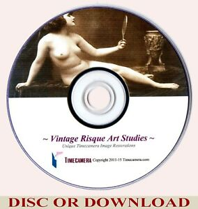 VINTAGE RISQUE IMAGES COLLECTION - Pro High-Resolution Photo Print-making