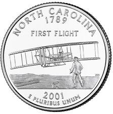 "2001 P North Carolina State Quarter New U.S. Mint ""Brilliant Uncirculated"""