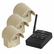 Hosmart Rechargable 1/2 Mile Long Range Wireless Driveway Alarm System Outdoor