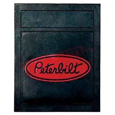 "Peterbilt Trucks Motors 24"" x 30"" Heavy Duty 3/8"" Semi Truck Mud Flaps-Pair"
