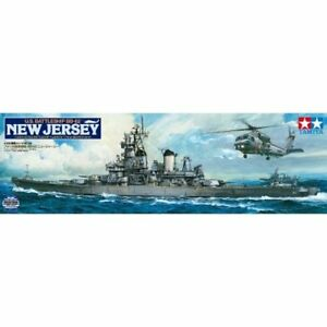 Tamiya 1/350 Ship Series No.28 US Battleship New Jersey BB-62 Model Kit 78028