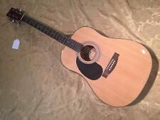 Stadium NY23L Acoustic Guitar-Left Handed-Natural-Lefty Guitar-Setup Included!