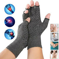 Copper Compression Arthritis Gloves For Carpal Tunnel Hand Wrist Brace Support