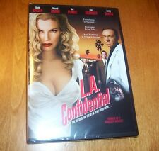 LA CONFIDENTIAL Kevin Spacey Russel Crowe Kim Basinger Guy Pierce DVD NEW