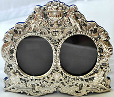 Antique Cherubs, Gods and Angels Sterling Silver Picture/Photo Frame Signed JR