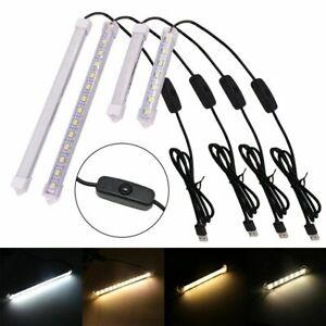 5V LED Bar Light USB Powered Rigid Strip Milky White Cover Hard Bar Light