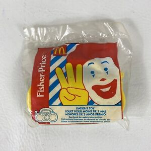 Vintage McDonald's Happy Meal Toy Fisher Price Radio Rattle 1999 Mattel