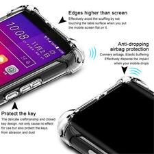 Shockproof Clear Back Silicone Soft TPU Case Cover For HTC M10 U11 U12 Ultra