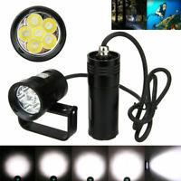 Underwater 150m 20000LM 6x XM-L2 LED Diving Scuba Flashlight Light Lamp Torch