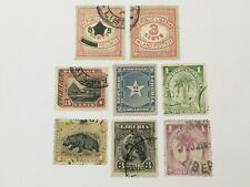 old stamps  LIBERIA     x  8