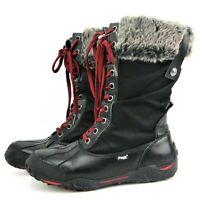 PAJAR CANADA Garland Black Boots EU 40  US 9  9.5 Fur Lined Duck