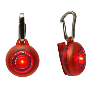 Rogz Roglite Safety Light Illuminated Flashing Dog Tag