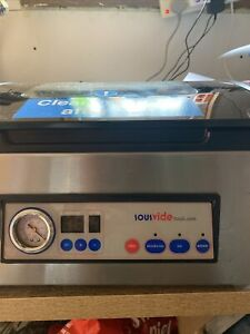 Sous IVide Chamber Vacuum Sealer, Silver, Large,