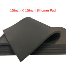 New Heat Press Replacement High Temperature Pad 15x15 Gray 031 Silicone Pad