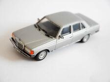 "Mercedes W 123 Limousine saloon ""280 E"" silber argentin silver, Minichamps 1:43"