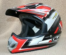 HJC CL-X4C Fuel MX Motocross Helmet Red Black Pre Owned Size Youth XXL