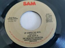 JOHN DAVIS & THE MONSTER ORCHESTRA - Up Jumped the Devil 1977 DISCO 7""