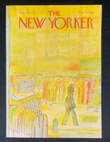 COVER ONLY ~ The New Yorker Magazine, July 30, 1979 ~ Eugene Mihaesco