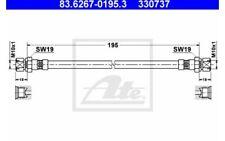 ATE Tubo flexible de frenos OPEL KADETT CORSA VAUXHALL CAVALIER 83.6267-0195.3