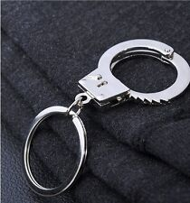 Miniature Handcuffs Key Chain Police cops great gift military US Seller