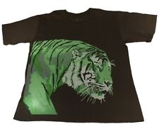 Tiger T-shirt (S)  - Made in USA - Support Wildlife Conservation, Read How