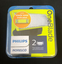 Philips Norelco OneBlade Replacement blade 2 Pack (QP220/80) Cartridges NEW