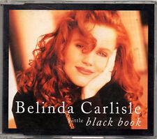 BELINDA CARLISLE - Little Black Book - 1992 UK CD SINGLE      *FREE UK POSTAGE*