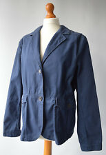 Ladies Timberland EarthKeepers Navy Blue Cotton Jacket Size XL UK 14