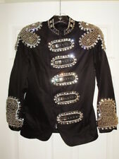 "Womens Stage Dance Jacket – Rhinestones ,BeDazzled (36"" Chest, 26"" Length)"