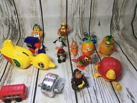 Vtg Wind Up Tomy Japan Russ Robot Godzilla Uptown Penguin Band Bus Parrot Toys