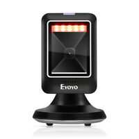 Eyoyo Handsfree Desktop Barcode Scanner Reader Platform Scanner for Supermarket
