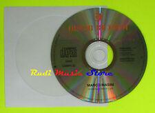 CD Singolo MARCO MASINI Principe PROMO 1995 italy RICORDI CDRPR 32 mc dvd(S9)