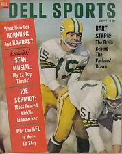1963 (Sep.) Dell Sports Football Magazine, Bart Starr, Green Bay Packers ~ VG