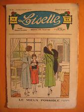 LISETTE N° 42 du 15/10/1933 -3ème année -éditions de Montsouris