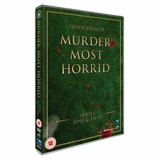 Murder Most Horrid Complete Series 1 & 2 - NEW & SEALED DVD - Dawn French