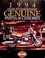 1994 Harley Davidson GENUINE Parts & Accessories Accessory Catalog Brochure