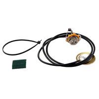 Guitar Parts Acoustic Pickup Pre-Wired Piezo Amplifier Jack Q1Z8