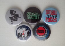 "5 x The Small Faces 1"" Pin Button Badges (london england mod rock britpop music)"