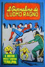 § IL GIORNALINO DE L' UOMO RAGNO n. 31 - ED. CORNO 1983 !!