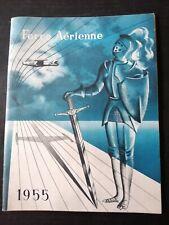 Brochure présentation FORCE AERIENNE BELGE 1955 / aviation BELGIQUE
