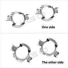 2x H7 LED Headlight Bulb Holder Adapter Retainer for Mercedes Benz VW Nissan