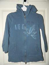 ABERCROMBIE girls Blue Hoodie Sweatshirt* M Medium 8 10 12