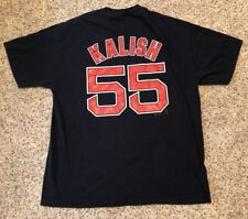 Ryan Kalish BOSTON RED SOX (XL) T-Shirt Jersey Blue Rare