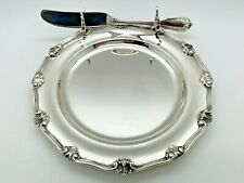 Buccellati BORGIA Sterling Butter Plate and Knife