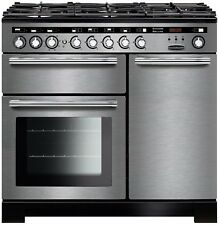 RANGEMASTER Encore Deluxe EDL100DFFSSC Dual Fuel Range Cooker - Stainless Steel