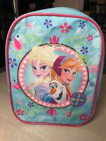 Disney Anna und Elsa Frozen Freizeit Kindergarten Kinder Schul Rucksack Tasche