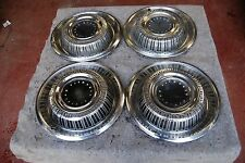 1969 Plymouth Fury Set/4 Hubcaps / Wheelcovers NICE Originals 15""