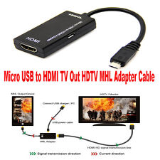 Mini Micro USB A MHL HDMI TV ADAPTADOR CONECTOR CABLE para Samsung Galaxy S2