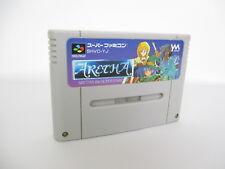 Super Famicom ARETHA Nintendo Cartridge Only sfc